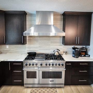 Anaheim Hills, CA Modern Kitchen Remodel and Expansion