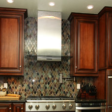 Traditional Kitchen by Pacific Coast Custom Design
