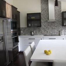 Contemporary Kitchen by anat shmariahu