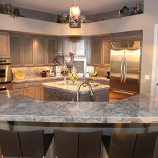 Traditional Kitchen by ModaScapes Interior Design