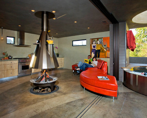 Indoor Fire Pit | Houzz