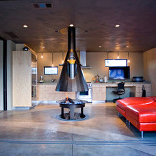 Industrial Kitchen by miller design