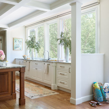 Andover MA Transitional Kitchen Remodel