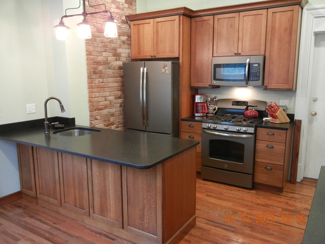 Traditional Kitchen by Curtis Lumber Burlington