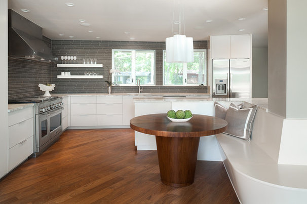 Contemporary Kitchen by Andrew Pogue Photography