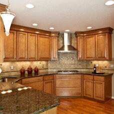 Traditional Kitchen by Angela Bonfante Kitchen Designs