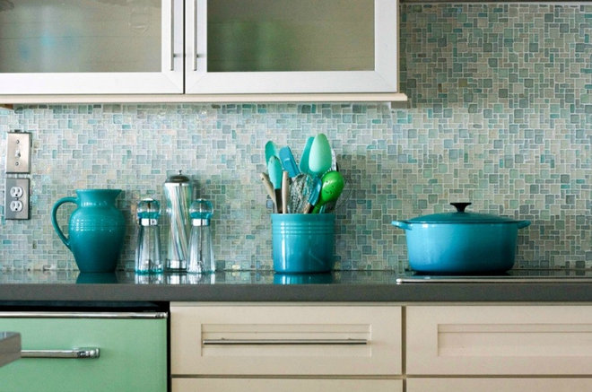 Beach Style Kitchen by The Blue Moon Trading Company
