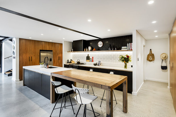 Perfect Industrial Kitchen by SQ Projects