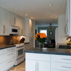 Contemporary Kitchen by Stone House llc