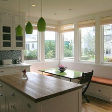 Traditional Kitchen by Anne Forell Architecture