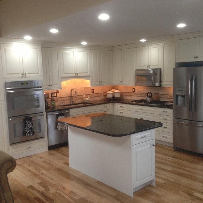 Anne's white kitchen