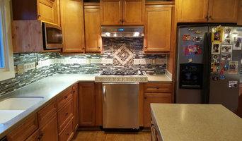 Anniston Custom Mosaic back splash and Kitchen remodel