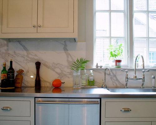 Marble Slab Backsplash Home Design Ideas Pictures