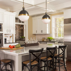 Transitional Kitchen by Renewal Design-Build