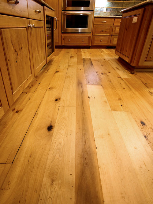 Reclaimed beech maple hardwood flooring