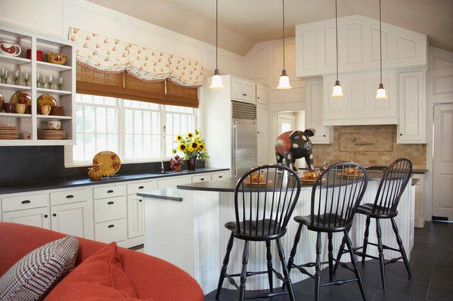 Farmhouse Kitchen by Gale Michaud Interiors