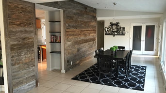 Antique, Reclaimed Barnwood Accents