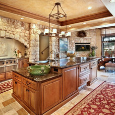 Mediterranean Kitchen by Neolithic Design Stone and Tile