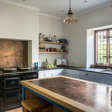 A New English Kitchen Makes Brass the Star