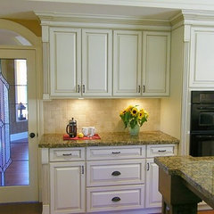 traditional kitchen by Reflections Interior Designs