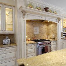 Mediterranean Kitchen by Belaire Custom Cabinetry