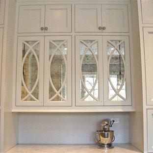Antique Mirror Kitchen Cabinets Houzz