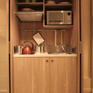 Foto di una cucina minimalista