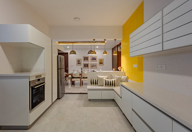 Contemporary Kitchen by Yellow Door Architects