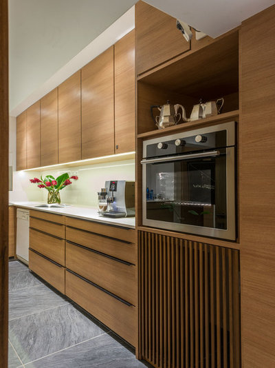 Contemporary Kitchen by ns*a
