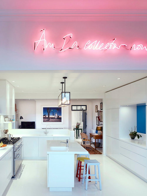 neon light ideas houzz