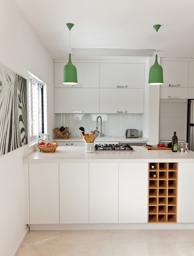 Spectacular Contemporary Kitchen by SK Designers Shimrit Kaufman