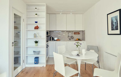 Houzz Tour: Clever Space-saving in a Compact Dublin Apartment