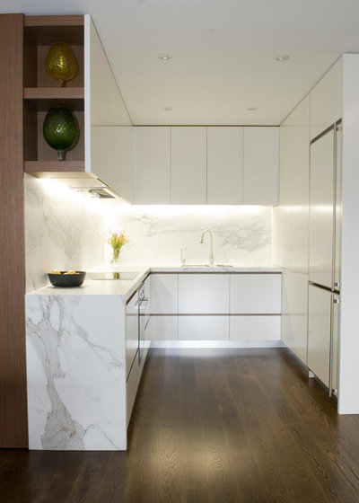 Moderne Cuisine by Justin Loe Architects
