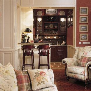Идея дизайна: кухня в викторианском стиле