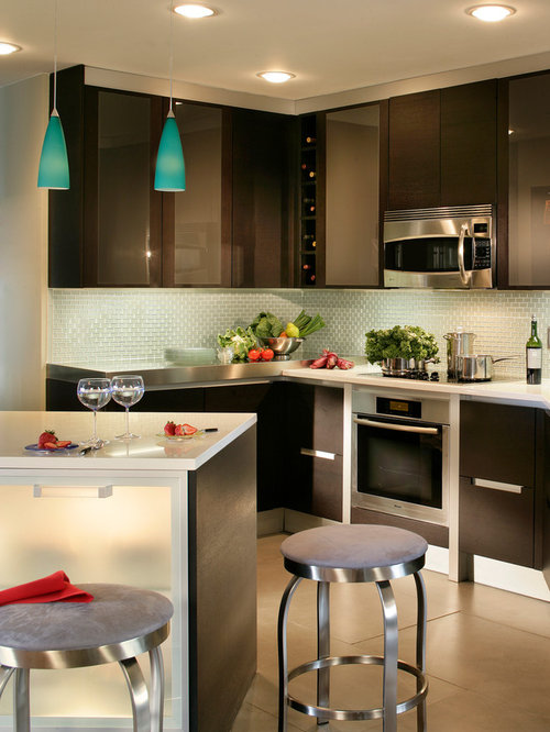 Apartment Size Kitchen Houzz