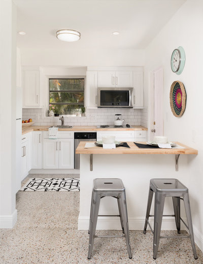 Midcentury Kitchen by Nicole White Designs Interiors LLC