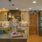 Mountain Living Farmhouse Kitchen Denver By Jordan