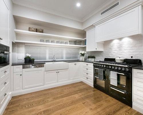 Kitchen design ideas renovations photos with medium for Anigre kitchen cabinets