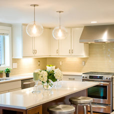 Transitional Kitchen by AK Interior Design