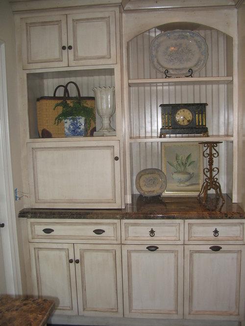 Antique Glazed Cabinets | Houzz