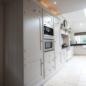 Approved Used Kitchen, Large Shaker with Island, Lacanche Range Oven