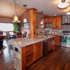 Colorado Beetle Kill Pine Kitchen - Rustic - Kitchen ...