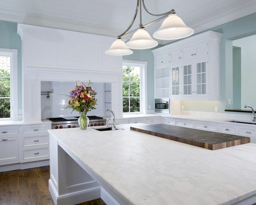 Arabescato houzz for How to care for carrara marble countertops