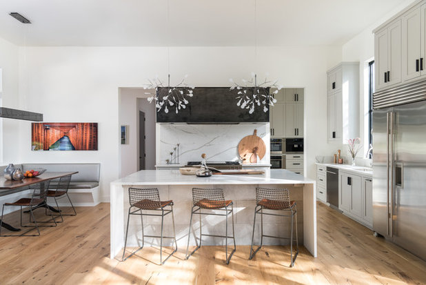 Contemporary Kitchen by Arbogast Custom Homes