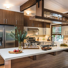Contemporary Kitchen by Mission Tile West