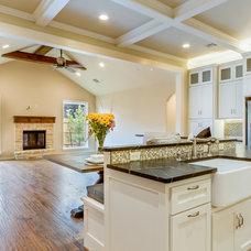 Transitional Kitchen by Punnett Construction