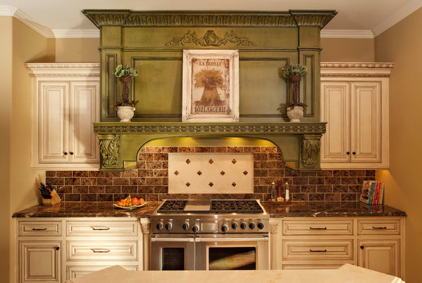 Traditional Kitchen by Hendricks Construction