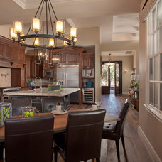 Traditional Kitchen by Luster Custom Homes
