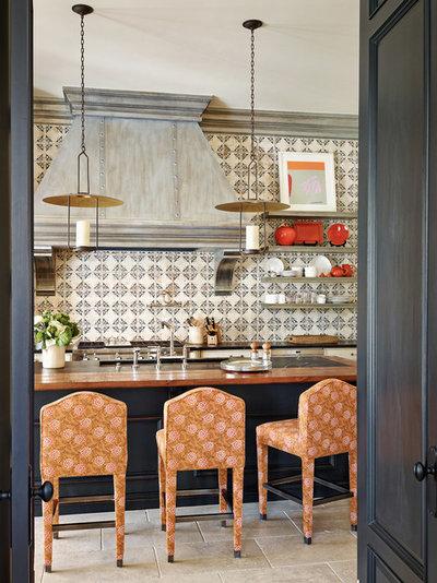Mediterranean Kitchen by Wiseman & Gale Interiors