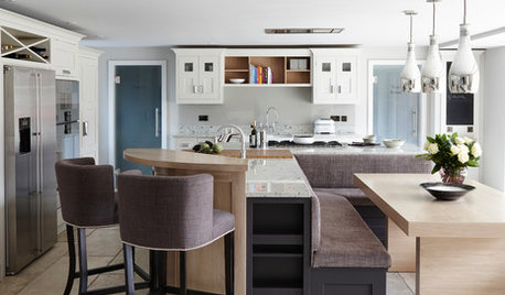 Kitchen Tour: A Luxurious, Timeless Scheme With an L-shaped Island